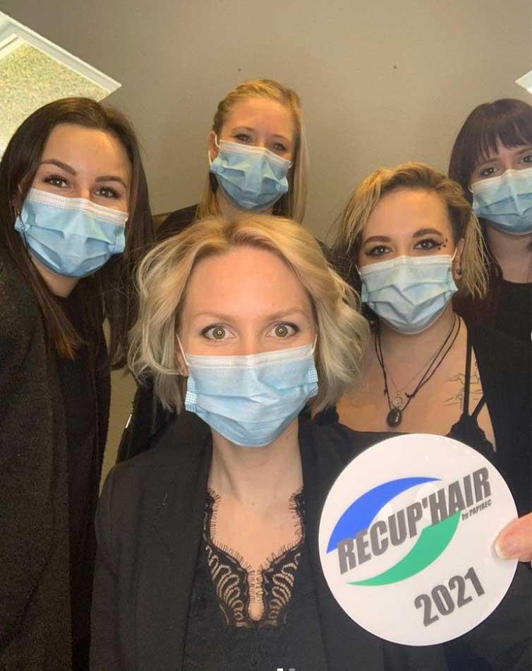 Partner Friseursalon von Recup'Hair: Haar Recycling für die Umwelt